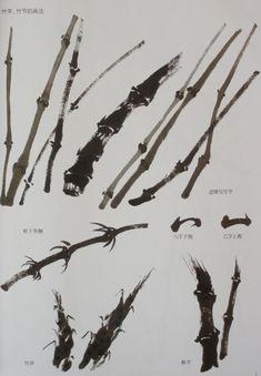 """Товары для художников :: Альбомы гохуа :: Учебник гохуа """"Бамбук в стиле сеи"""" - Галерея """"Синий Феникс"""" - китайские картины, нефрит, лаковые шкатулки, украшения, фарфор, керамика, бронза, украшения, товары для художников"""