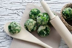 Spinach Balls Healthy Delicious Appetizer