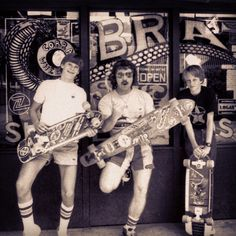 Vintage Tony Hawk and friends on the North Shore