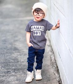 Trendy Boy Outfits, Trendy Baby Clothes, Baby Boy Outfits, Kids Outfits, Cute Little Boys, Cute Kids, Cute Babies, Stylish Baby Boy, Stylish Kids