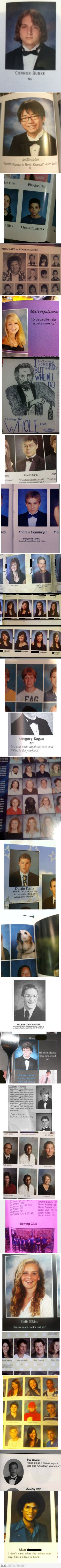 funny yearbooks