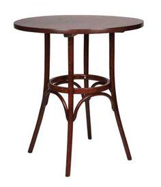 Bugholztisch / Holztisch / Tisch rund BISTRO T 80