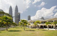 Destinos do Extremo Oriente: Kuala Lumpur, Malásia.  Como Syakirin Mesquita e as Torres Petronas em Kuala Lumpur