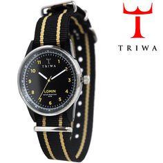 TRIWA(トリワ) リストウォッチ 腕時計 MIDNIGHT LOMIN ブラック 【送料無料】 wc-triwa-053