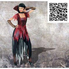 Disfraz Vampiresa gótica.