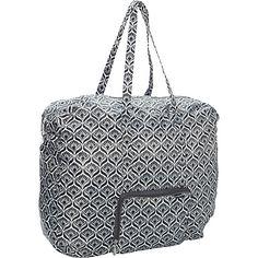 #LightweightPackableExpandableBags, #TravelAccessories - baggallini Large Zip-Out Travel Bagg Nouveau - baggallini Lightweight packable expandable bags