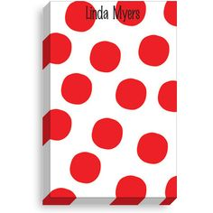 Red Spot Notepads