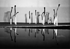 Matches, reflection | © Hasmik Hakobyan photography