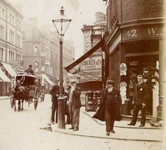 Fulham Road, at the junction with Drayton Gardens c1900. Fifty years or so before this scene would be fields, market gardens and cottages in the hinterland between Kensington and Chelsea.