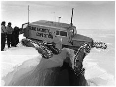 '55 Transantarctic Expedition Vehicle