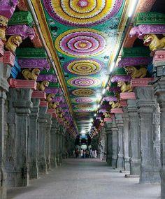 Sri Ramanathaswamy temple on Rameswaran island, India