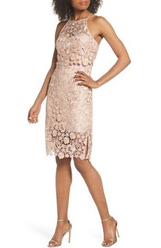 Free shipping and returns on Jenny Yoo Freya Lace Sheath Dress at Nordstrom.com. Pre-order this style today! Add to Shopping Bag to view approximate ship date. You'll be charged only when your item ships.A charming dress cut from delicate floral lace features a two-piece look that highlights pretty shoulders and a slender waist.