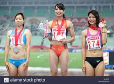 Download this stock image: Yanmar Stadium Nagai, Osaka, Japan. 24th June, 2017. Kana Ichikawa, JUNE 24, 2017 - Athletics : 101st Japan Track & Field National Championships Women's 100m Final at Yanmar Stadium Nagai, Osaka, Japan. Credit: AFLO/Alamy Live News - JEJEPF from Alamy's library of millions of high resolution stock photos, illustrations and vectors.