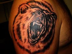 Grizzly Bear Tattoo Designs | Bear Tattoos Big Tattoo Gallery Online Pictures And Idea For Tribal