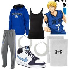 Kise Ryota, created by theearlmustang on Polyvore