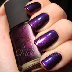 I am in LOVE with this purple!