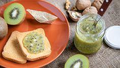 Kiwi e noci una composta ideale per la colazione o la merenda