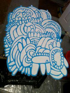 Untitled Organic Forms by theoldroadhog on Etsy, $500.00