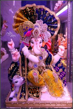 Clay Ganesha, Ganesha Art, Lord Ganesha, Ganesh Wallpaper, Ganesh Images, Happy Ganesh Chaturthi, Ganpati Bappa, Indian Gods, My Friend