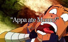 Appa And Momo | phrase # sokka # atla # avatar: the last airbender