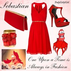 """Disney Style: Sabastian"" by trulygirlygirl ❤ liked on Polyvore"