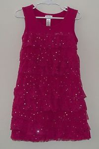 justice for girls dresses | Justice Pink with Sparkles Dress Girls Clothes Size 6 | eBay