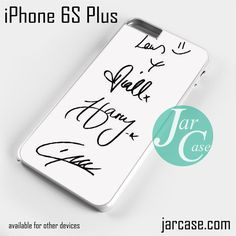One Direction Signatures Phone case for iPhone 6S Plus and other iPhone devices