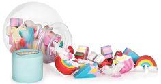 Homewares - Unicorn Mini Eraser Pot Display