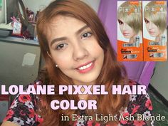 LOLANE PIXXEL HAIR COLOR IN EXTRA LIGHT ASH BLONDE (Philippines) | ♡Dais...