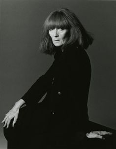 Sonia Rykiel    Photo by Timothy Greenfield Sanders