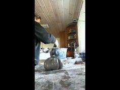 Græskar i beton - YouTube