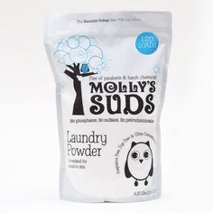 Molly's Suds Laundry Powder (120 loads) #pureproducts #greenlaundry