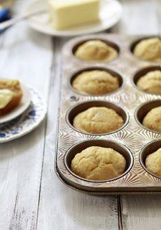 Honey Corn Bread Muffins- perfect for fall chili