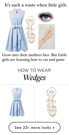 """Untitled #3389"" by armamak on Polyvore featuring Chicwish and Oscar de la Renta"