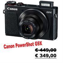 Canon Power Shot G9 X. Fotocamera compatta.