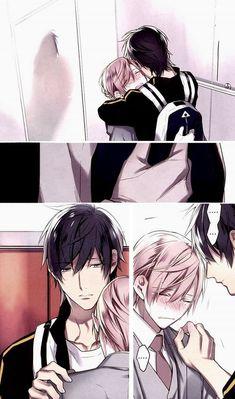 Shirotani y Kurose // Ten Count Yaoi Hard Manga, Anime Manga, Manhwa, 10 Count Manga, Anime Couples, Cute Couples, Ten Count, Takarai Rihito, Yuri