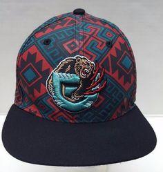 NBA Vancouver Grizzlies Snapback Cap A Memphis Aztec Northwestern 47 Brand OS #47Brand #VancouverGrizzlies