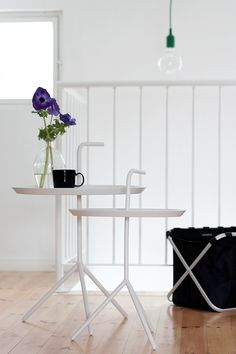Via Pihkala | White | Hallway | Hay DLM Table | Muuto Lamp