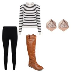 """""""Amanda Gregory Outfit"""" by jennyestrella on Polyvore featuring Oasis, Boohoo, Journee Collection and FOSSIL"""