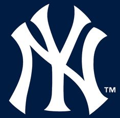 NY Yankees logo image: The New York Yankees are an American professional baseball team based in The Bronx borough of New York City that competes in MLB in the American League's East Division. New York Yankees, Yankees Baby, Yankees Logo, Yankees Team, Damn Yankees, Logo New, Baseball Wallpaper, Hockey, Mlb Teams