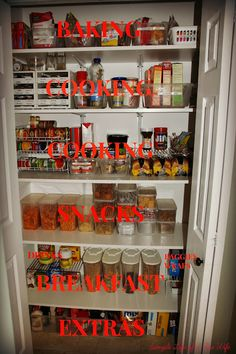Simple Life of a Fire Wife: Pantry Organization