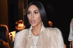 Kim Kardashian dons same sheer gown to film more 'Ocean's Eight' scenes: Pics