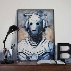 Doctor Who  Cyberman  INSTANT DIGITAL DOWNLOAD by BlackSailsUK