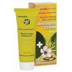 Krem antybakteryjny z olejkiem Manuka – Manuka Oil Antiseptic Creme 20 g. | Kosmetyki naturalne Uroda www.thenaturefarm.pl