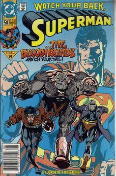 SUPERMAN # 58 HISTORIA COMPLETA DE DAN JURGENS. COMIC DE 1990. $ 50.00 Para más información, contáctanos en www.facebook.com/...