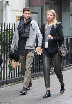 Maria Sharapova and Grigor Dimitrov in London