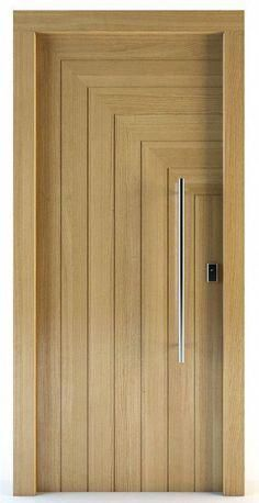 Interior wood doors are naturally beautiful. This is especially true if you are going to choose solid hardwood. Room Door Design, Door Design Interior, Wooden Door Design, Main Door Design, Interior Barn Doors, Craftsman Interior, Modern Wooden Doors, Internal Wooden Doors, Internal Doors Modern
