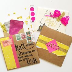 How GORGE is this happymail from @bisforbrookemail ?!? I'm so inspired by this burst of happy