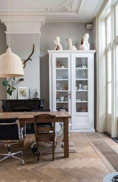 Binnenkijken in herenhuis Haarlem