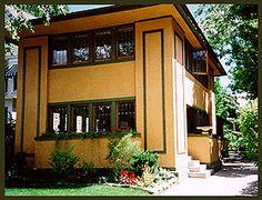 Gardener's Cottage to the Darwin D. Martin House, Buffalo, NY